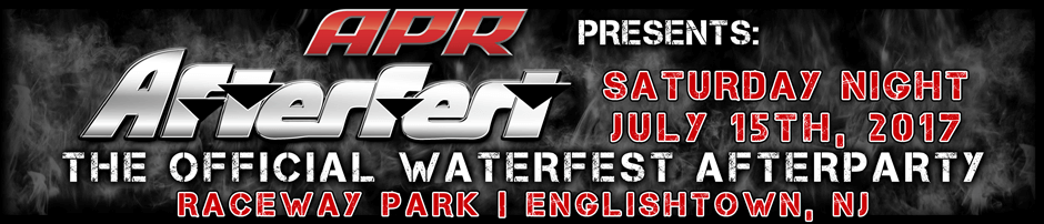 Afterfest: The Official Waterfest Afterparty | Saturday Night July 15th, 2017